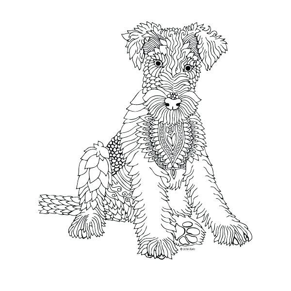 Pin By Charity Martin On Cricut Dog Coloring Page Coloring