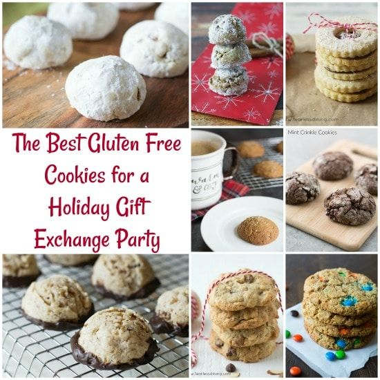 These are my most popular gluten free cookie recipes, all in one place. All of my cookie recipes are gluten free, and many dairy free too.