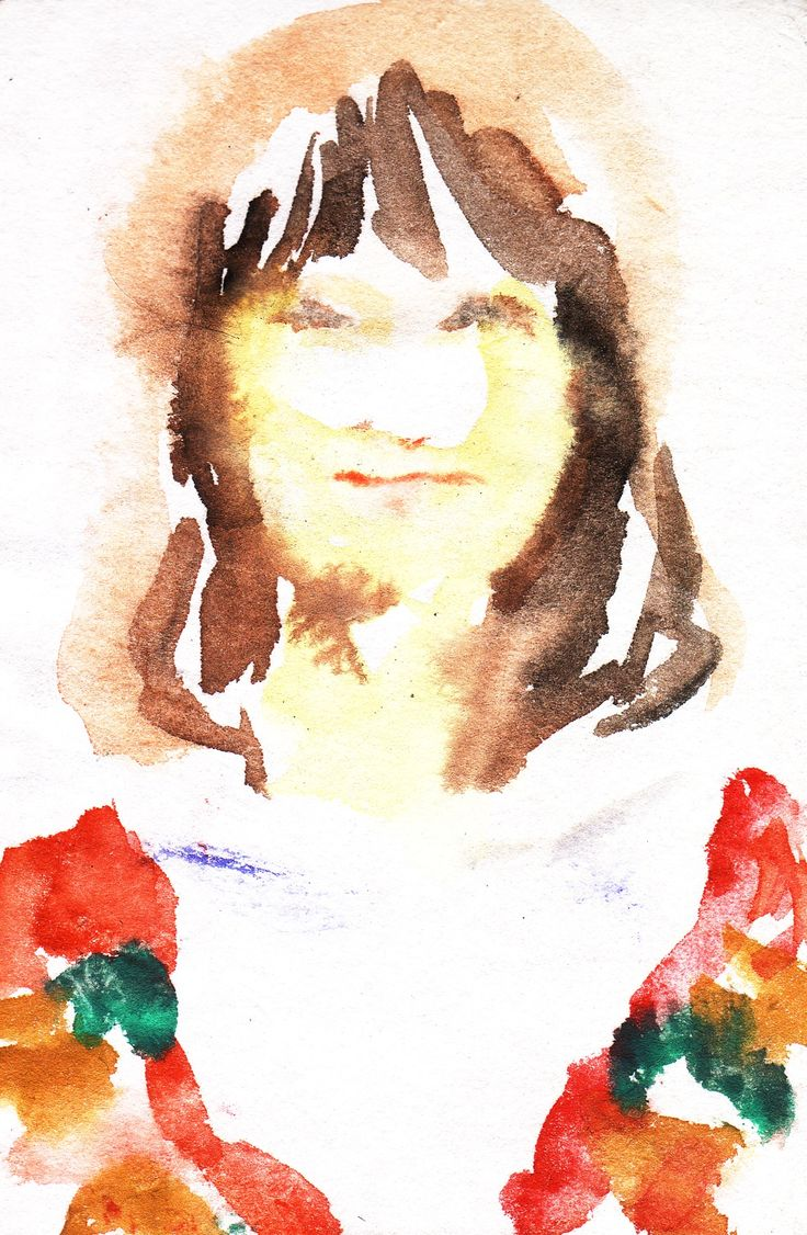 water color on paper,2011 森島花