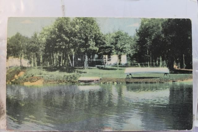 Minnesota mn walker birchwood resort leech lake postcard for Leech lake fishing resorts