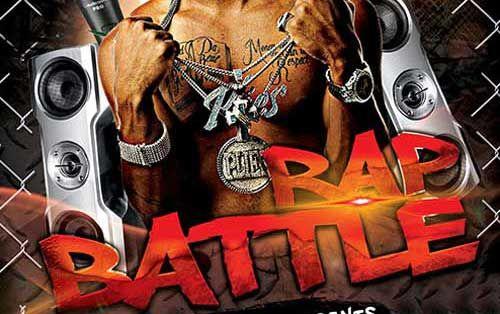 Battle Rap Free PSD Flyer Template - http://freepsdflyer.com/battle-rap-free-psd-flyer-template/ Enjoy downloading the Battle Rap Free PSD Flyer Template by Elegantflyer!  #Battle, #Dj, #Electro, #Event, #HipHop, #Party, #Rap