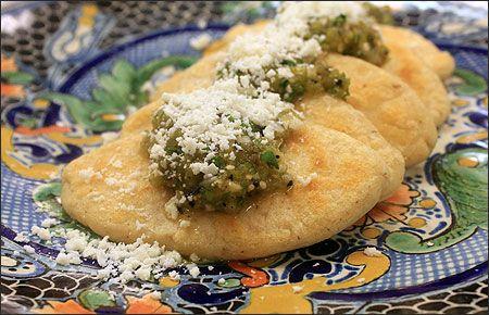 Receta Tlacoyos estilo Hidalgo - Los Sabores de México y el mundo