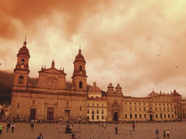 Cathedral in Bogotá