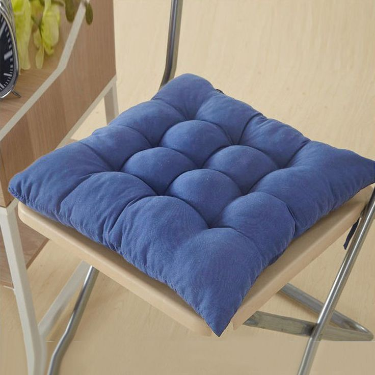 Soft Cushion Pad Garden Patio Home Kitchen Office Chair Seat Pads Cushion #Unbranded