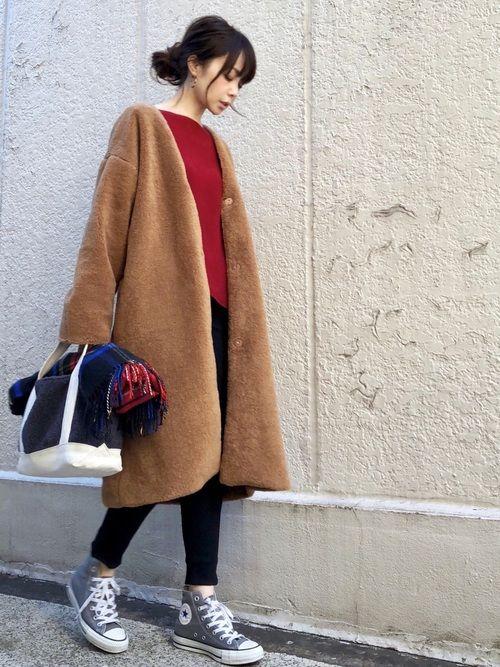 GUのジャケット/アウターを使ったari☆のコーディネートです。WEARはモデル・俳優・ショップスタッフなどの着こなしをチェックできるファッションコーディネートサイトです。