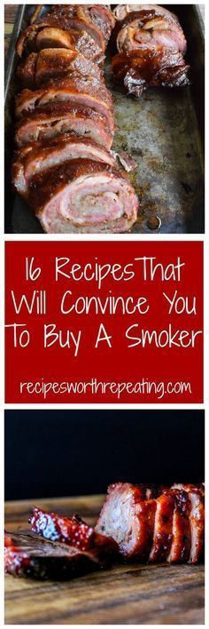 Summer is almost over but who says smoking is only for summer time? I've got 16 smoker recipes that I guarantee will make you want to buy a smoker so you can smoke all year round!
