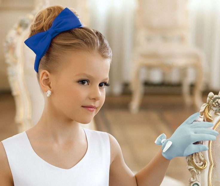 Küçük Kız Abiye 2017 Saç Modelleri