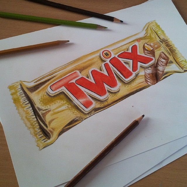 #zeichnen #zeichnung #draw #drawing #art #artist #kunst #vorkurs #medienformfarbe #farben #farbstifte #colour #pencil #papier #paper #colour #pencil #brown #braun #grau #twix #schokolade #chocolate #essen #food #sweets #rot #schokoriegel #gold #eat