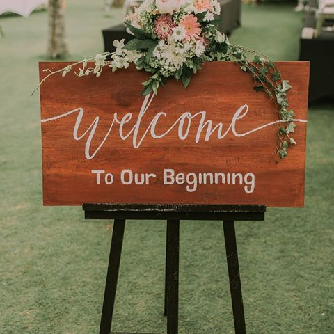 A sweet sign for a new beginning. ❤️❤️