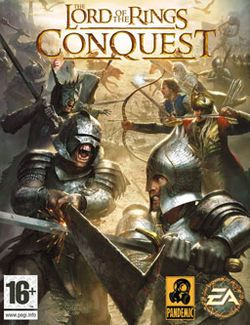 The Lord of the Rings: Conquest is an action game developed by Pandemic Studios and published by Electronic Arts. It is based on The Lord of the Rings film trilogy, and borrows many gameplay mechanics from Pandemic's Star Wars: Battlefront games. The game allows the player to play as both the forces of good and evil, but unlike The Lord of the Rings: The Battle for Middle-earth, the latter option is based around Sauron stopping the One Ring from being destroyed and using it to regain his…
