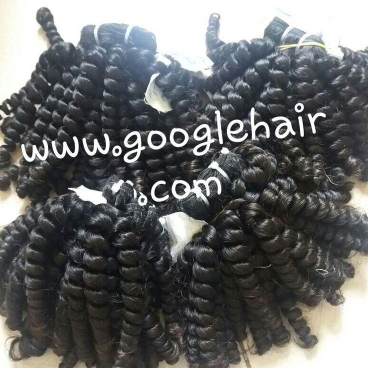 Kinky curly hair extensions - Vietnamese Human Hair - Real Hair Extensions