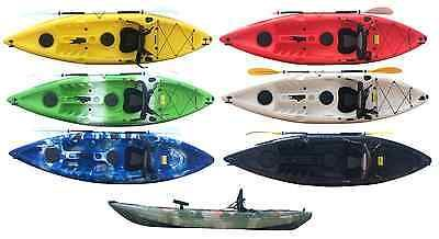 #Bluefin sit on top sea fishing #kayak canoe #accessories included 10ft 294cm lon,  View more on the LINK: http://www.zeppy.io/product/gb/2/121572058852/