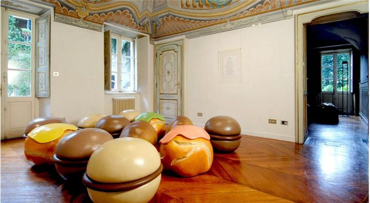 Food Inspired Furniture | Bignè Poufs