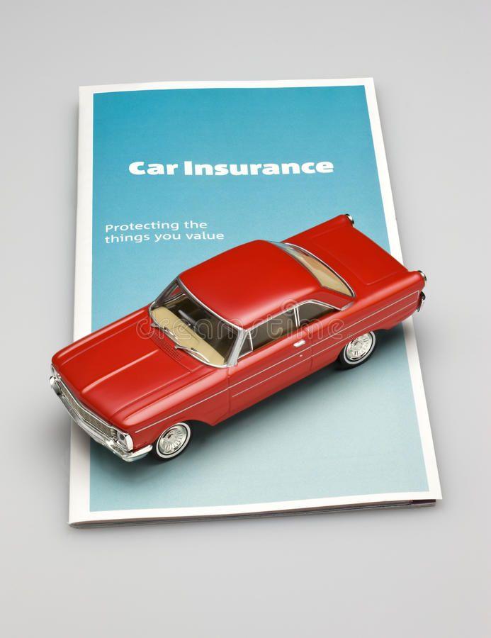 Car Auto Insurance Brochure A Brochure For Car Insurance With A