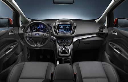 Inside the New Grand C-MAX