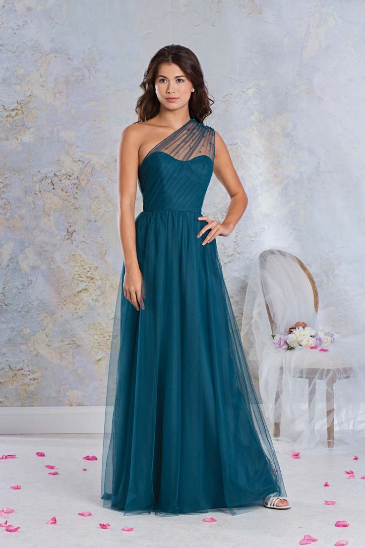 Best 25 one shoulder bridesmaid ideas on pinterest one shoulder teal bridesmaid dresses 15 of our favourite styles ombrellifo Images