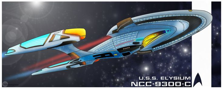 The U.S.S. Elysium (STAR TREK Online) by TheOverheatingOrange