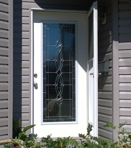 Decorative Glass Door Inserts by Airdrie Windshield & Glass