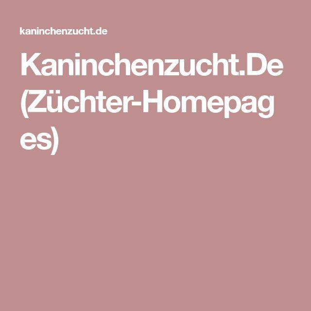 Kaninchenzucht.De (Züchter-Homepages)