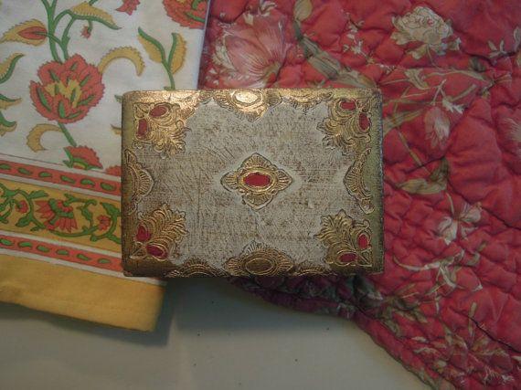 Vintage Wood Gold Gilt Italian Florentine by AloofNewfWhimsy, $28.00
