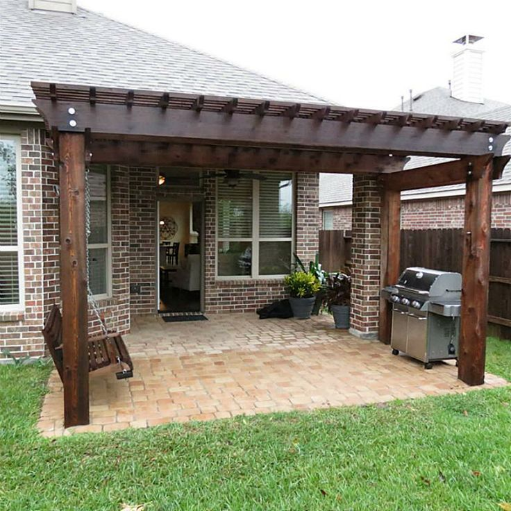 ... patio: Backyard Ideas, Pergolas, Outdoor, Covered Patios, Pergola Idea