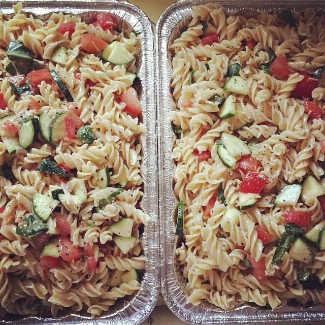 pasta salad recipe using Rustic Herb Seasoning by Tastefully Simple with Simple Ways to Live Tastefully