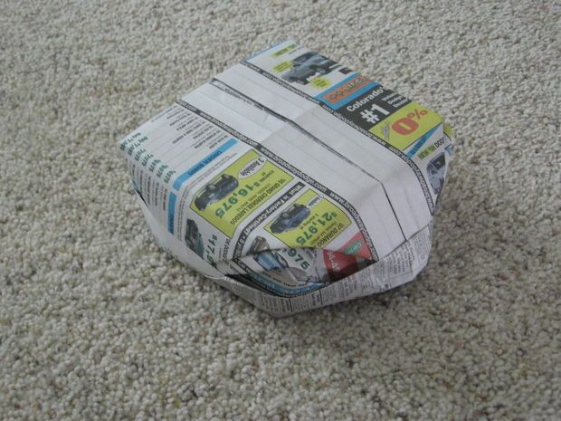 Newspaper Hat!                                                                                                                                                                                 More