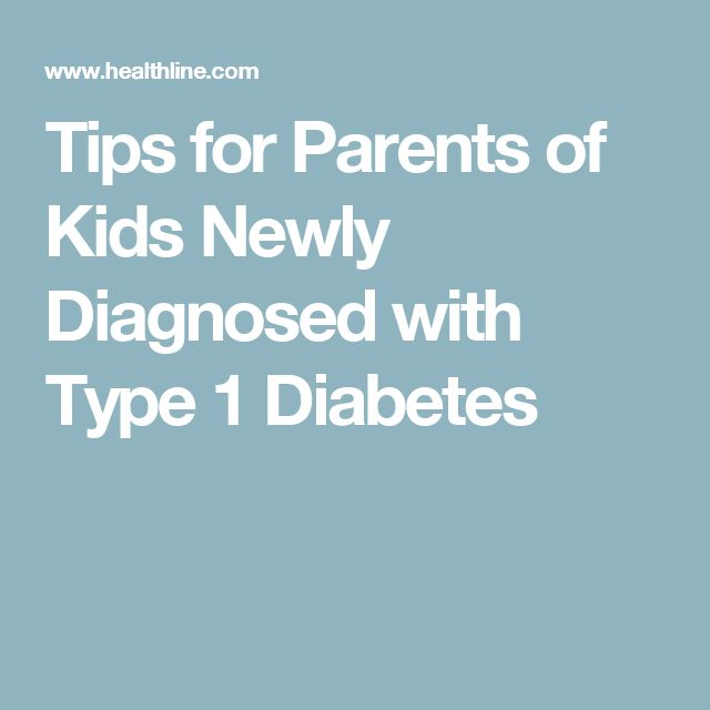 Tips for Parents of Kids Newly Diagnosed with Type 1 Diabetes