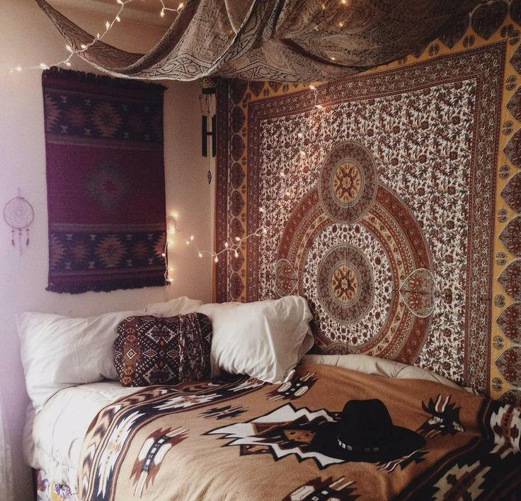 Boho bedding tumblr my bohemian room for Boho dekoration