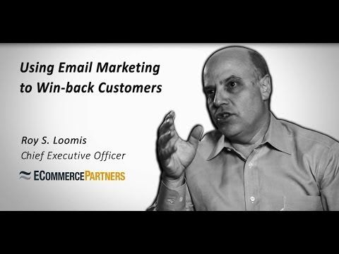 Using Email Marketing to Win-Back Customers | ECP Video Tip #emailmarketing