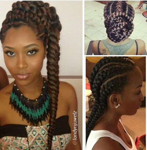 Super 1000 Images About Protective Styles On Pinterest Crochet Braids Hairstyles For Women Draintrainus