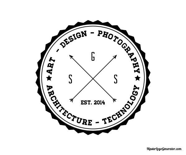 Hipster logo generator clever pinterest hipster for Hipster logo generator