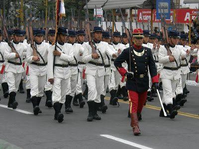 La Guerra del Pacífico 1879 - 1884 ( Perú, Bolivia y Chile): uniformes históricos