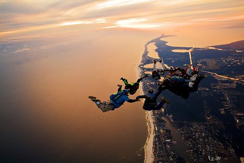 Skydive - DONE! Brisbane, Aust. and Cape Town, South Africa.