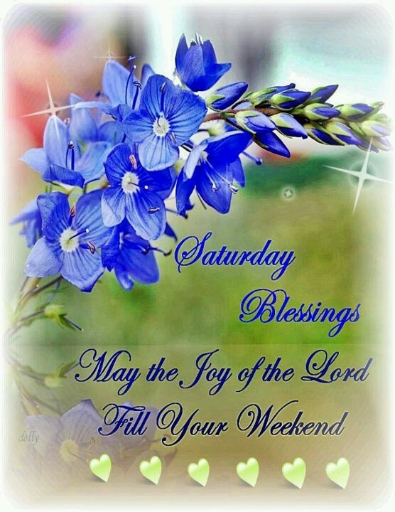 saturday blessings its always a beautiful blessed day