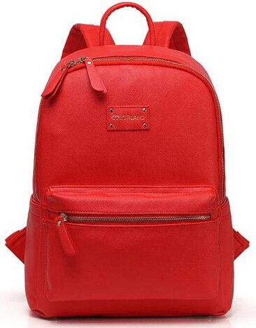 Leather Diaper Bag Backpack Style