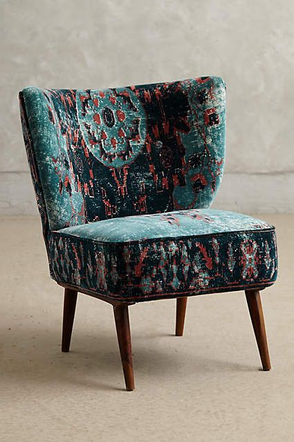 Dhurrie Occasional Chair