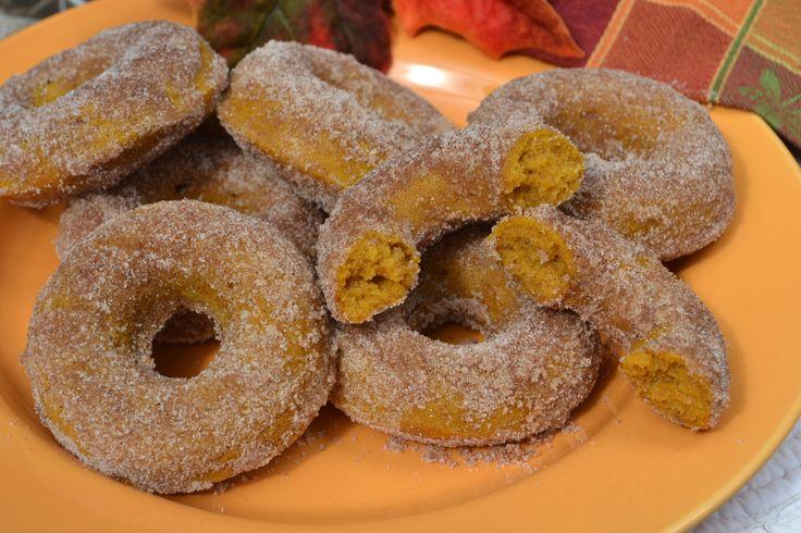 Baked Pumpkin Doughnuts | Doughnuts | Pinterest