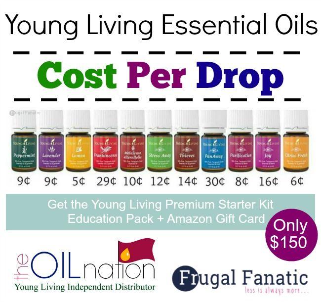 Start Saving Money: Cost Per Drop Young Living Essential Oils