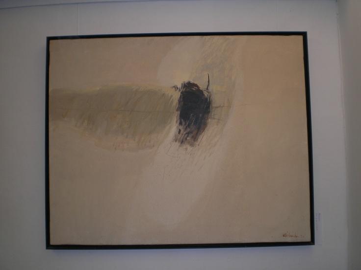 Senil i barca, óleo sobre lienzo 65x 81