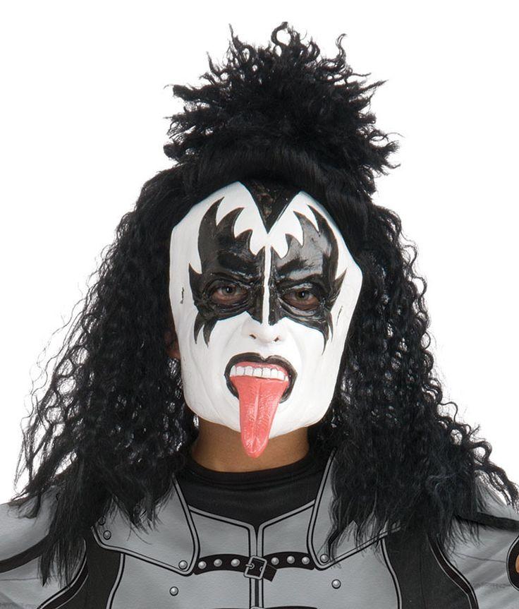 KISS Gene Simmons Mask