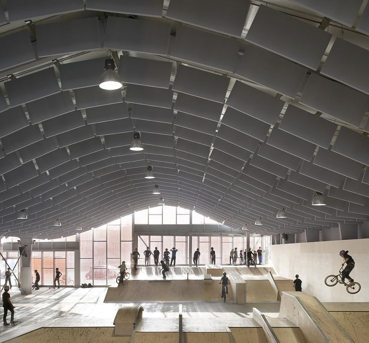 Hufton + Crow | Projects | Zap' Ados Skate Park
