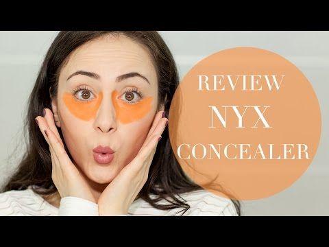 nyx concealer orange REVIEW | First Impression | Augenringe | Hatice Schmidt - YouTube