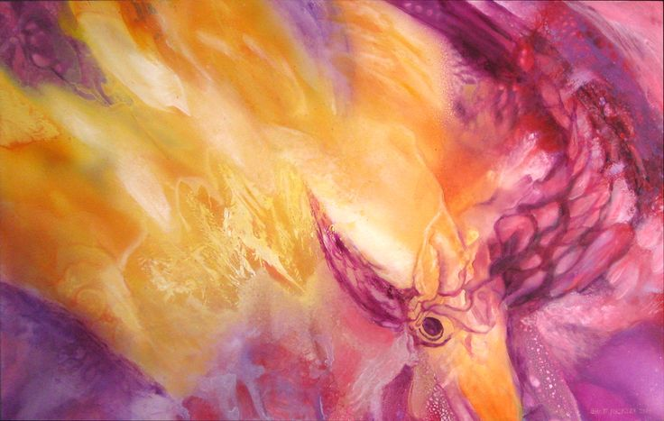 Colliding Bird Analogies - Spray Paint
