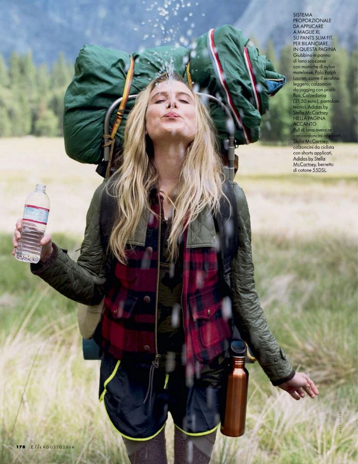 yosemite camp: dree hemingway by matt jones for elle italia august 2014