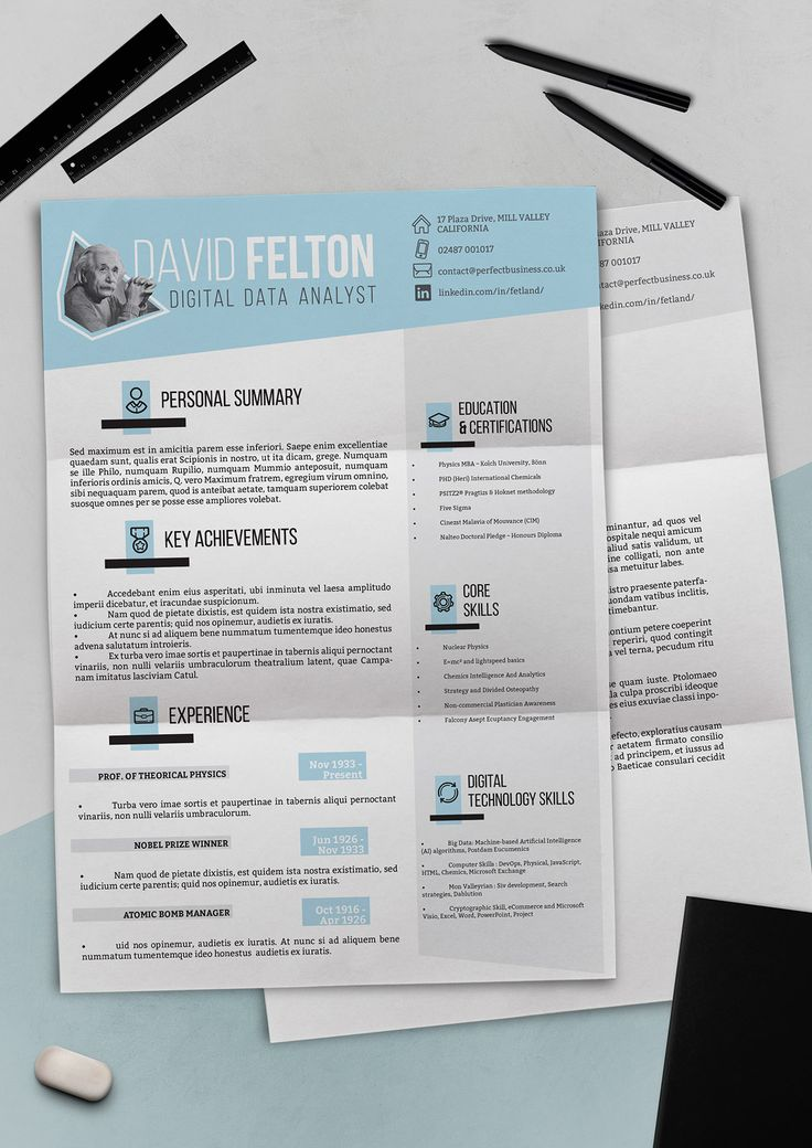 Freebie 2015 Resume Template Collection on