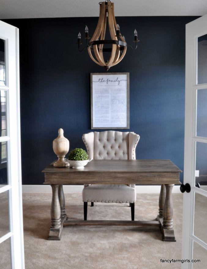 Best 25+ Navy office ideas on Pinterest | Blue office ...