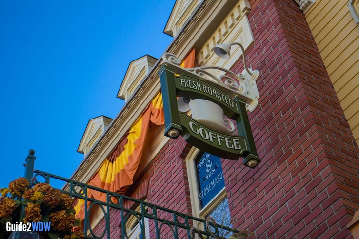 Main Street Bakery - Starbucks at Magic Kingdom