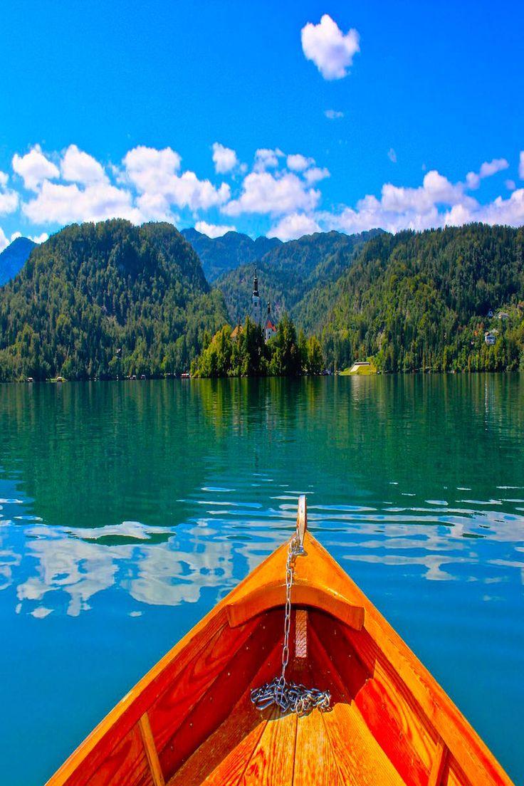 Postcard Views at Lake Bled | Slovenia Travel Destination ...