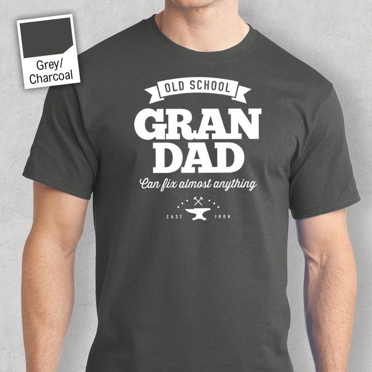 Old School Grandad T-shirt, Personalized Grandad Gift, Grandad Birthday Gift, Grandad Gift, Grandad Shirt, New Grandad Gift, Grandad Tshirt